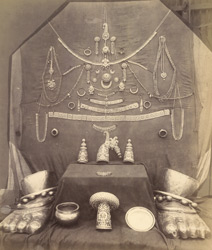 Jewellery, Ranganayakasvami Temple [Ranganatha Temple], Srirangam, Trichinopoly District. 300